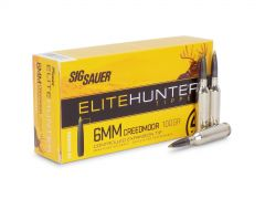 E6MMCTH2-20 Sig Sauer Elite Hunter 6mm Creedmoor 100 Grain Tipped