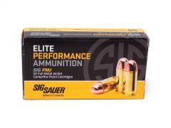 Sig Sauer Elite Performance .380 ACP 100 Grain FMJ