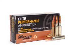 Sig Sauer 6.5 Creedmoor 120 Grain Elite Hunting HT Case E65CH1-20-CASE