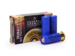 Federal LE 12 Gauge Ammo 2-3/4 Tactical TruBall Deep Penetrator Rifled Slug""