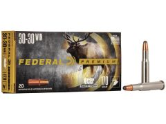 P3030D Federal Premium 30-30 Winchester 170 Grain Nosler Partition (Box)