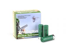 "Remington Gun Club Target Loads 12 Ga 2-3/4"" 1 Oz 8 Lead Shot (Case)"