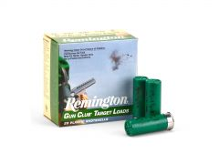 "Remington Gun Club Target Loads 12 Ga Low-Recoil 2-3/4"" 1-1/8 Oz 8 Lead Shot (Case)"