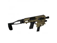 MCKGEN2G Command Arms Synthetic Stock MCK Gen 2 Standard Conversion Kit - Glock 17/19/19X/22/23/31/32/45 Gen 3-5 OD Green