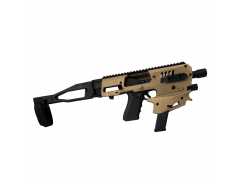 MCKGEN2TA Command Arms Synthetic Stock MCK Gen 2 Advanced Conversion Kit - Glock 17/19/19X/22/23/31/32/45 Gen 3-5 FDE