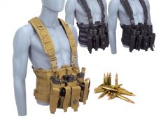 762X39-CHESTRIG-WOLF-762X39-HP500 Wolf 7.62x39 123 Grain HP RTAC Chest Rig Combo