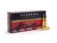 Federal Gold Medal 224 Valkyrie 90 Grain Sierra MatchKing