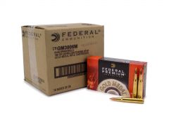 Federal Gold Medal 30-06 Springfield 168 Grain BTHP Case GM3006M-CASE