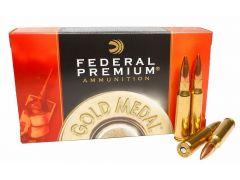 Federal Premium Gold Medal 20 Rounds 308 Winchester 155 Grain Sierra Matchking BTHP Ammo
