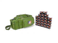 7.62X39-RTSRB-WFMJ500-GREEN RTAC 7.62x39 Small Range Bag - Wolf 762WFMJ (Green)