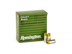 Remington Golden Saber .380 ACP 102 Grain JHP