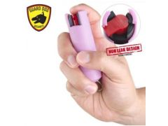 Guard Dog Hard Case Pepper Spray - Pink
