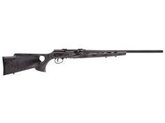"Savage A17 Target Thumbhole Semi-Auto 17 HMR 22"" 10+1 Gray/Black"