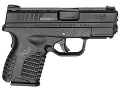 Springfield XD-S Essential 9mm 7+1/8+1 Black