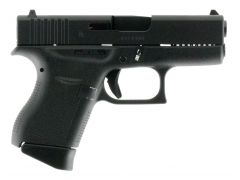 Glock G43 Subcompact 9mm 6+1 FS Black