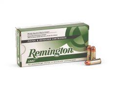 Remington UMC .38 Super 130 Grain +P FMJ Case L38SUP-CASE