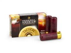 """Federal Tactical 12 Ga Reduced-Recoil 2-3/4"""" 9 Pellet FLITECONTROL 00 Buck Shot"""
