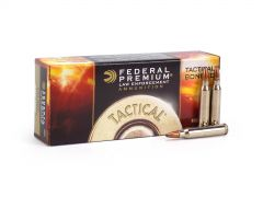 Federal LE Tactical 223 55 Grain Bonded SP