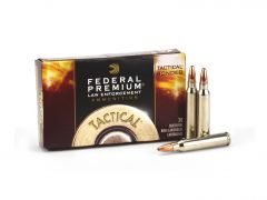 Federal Premium Tactical .223 Rem 62 Grain Bonded Soft Point