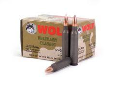 Wolf Military Classic .223 Rem 55 Grain FMJ (Box)