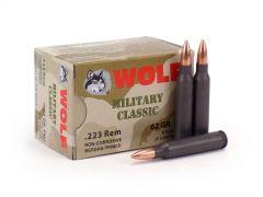 Wolf Military Classic .223 rem 62 Grain FMJ