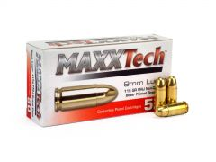Maxxtech 9mm Luger 115 Grain FMJ