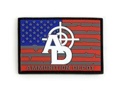 Ammunition Depot Patch & Sticker Bundle