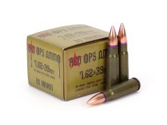 ROA76239124FMJ Red Ops 7.62x39 124 Grain FMJ