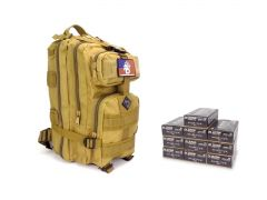 9MM-RTABP-5203500 RTAC 9mm Assault Pack - Blazer Brass 5203