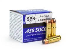 SBR .458 SOCOM 300 Grain JHP Case SL45813-CASE