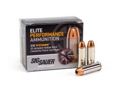Sig Sauer .44 Magnum 240 Grain V-Crown JHP