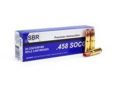 SBR .458 SOCOM 350 Grain Tracer-ERVT Case SL4581TE-CASE