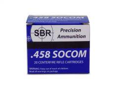 SBR .458 SOCOM 450 Grain FMJ (TCJ)