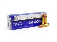 SBR .458 SOCOM 450 Grain Subsonic FMJ