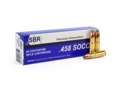 SBR .458 SOCOM 350 Grain JSP Case SL4589-CASE
