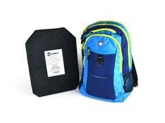 SwissGear Travel Backpack w/ Rimelig IIIA Soft Armor - Navy
