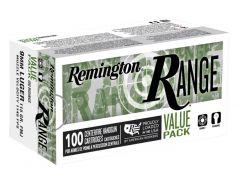 T9MM3B Remington Range 9mm 115 Grain FMJ Value Pack