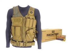 223-AD-TV-01-FR100500-TAN RTAC 223 Load Bearing Vest - Frontier FR100 (Tan)