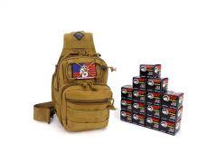 7.62X39-TACSLING-WFMJ300-TAN RTAC 7.62x39 Tactical Sling Pack - Wolf 762WFMJ (Tan)