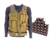 7.62X39-AD-TV-01-WFMJ500-TAN RTAC 7.62x39 Tactical Load Bearing Vest - Wolf 762WFMJ (Tan)