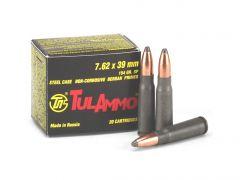 TulAmmo 7.62x39mm 154 Grain SP (Box)