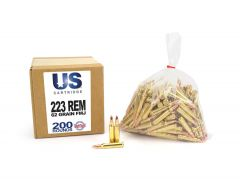 USC22362FMJ-200 US Cartridge 223 Remington 62 Grain FMJ