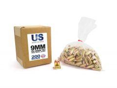 USC9124TMJ-200 US Cartridge 9mm 124 Grain TMJ