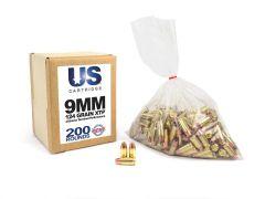 USC9124XTP-200 US Cartridge 9mm 124 Grain Hornady XTP (200 Round)
