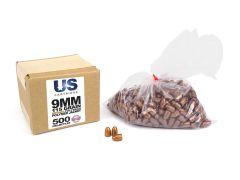 USP9115TPJPB-PROJO-500 US Projectile PolyBond 9mm 115 Grain Bronze TPJ (500 Projectiles)