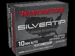 W10MMST-CASE Winchester Silvertip 10mm 175 Grain JHP