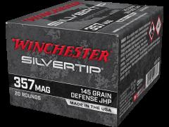 W357ST-CASE Winchester Silvertip 357 Magnum 145 Grain JHP