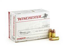 Winchester 9mm 115 Grain FMJ
