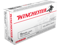 Winchester 9mm 124 Gr FMJ