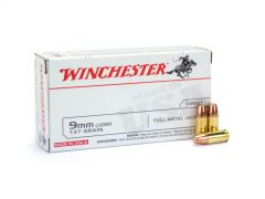 Winchester 9mm 147 Grain TCMC